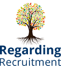 Regarding Recruitment Logo